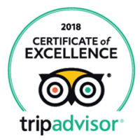 Certificate Excellence Tripadvisor 2018